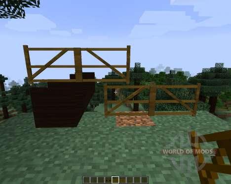 Tall Doors [1.7.2] für Minecraft