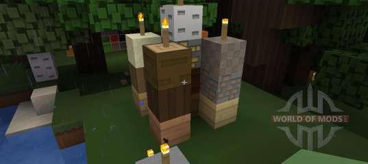 Paper Cut Out 32x 1 7 2 Für Minecraft