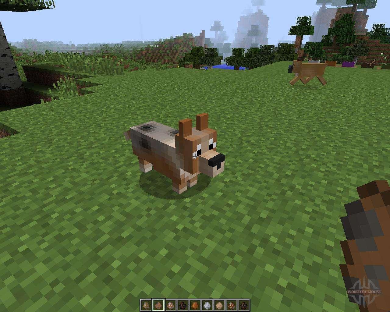 мод на собаку в майнкрафт 1.7.10