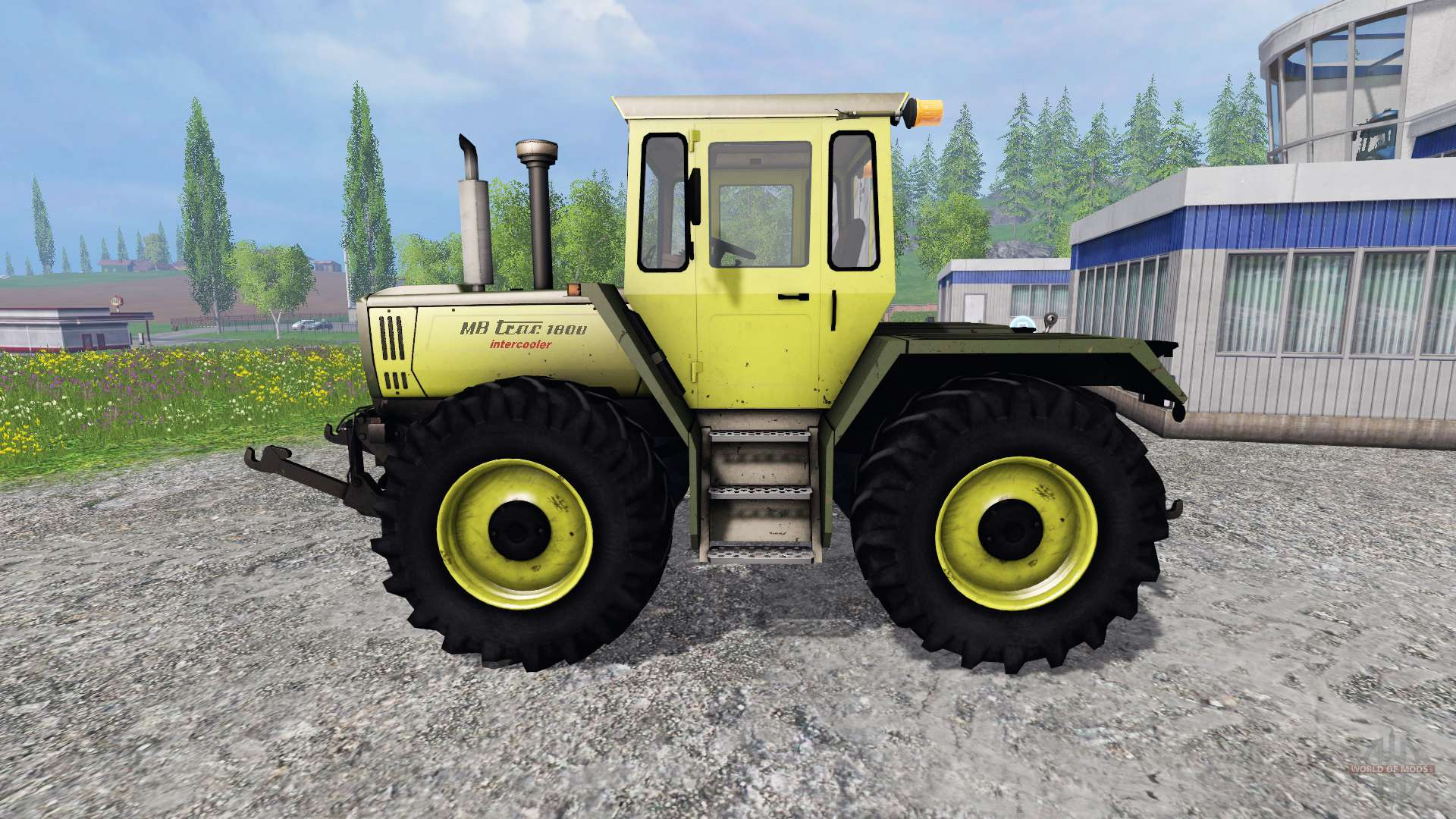 mercedes benz trac 1800 intercooler loader f r farming. Black Bedroom Furniture Sets. Home Design Ideas