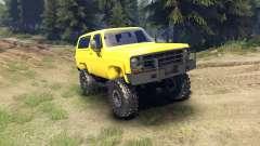 Chevrolet K5 Blazer 1975 v1.5 yellow für Spin Tires