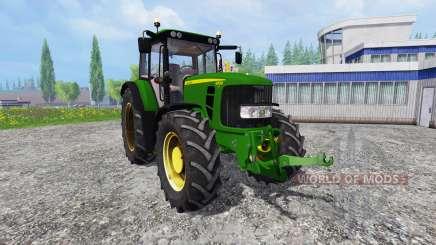 John Deere 6830 Premium FrontLoader für Farming Simulator 2015