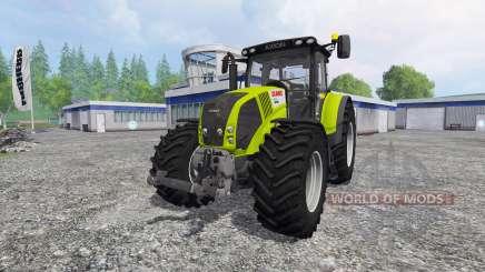 CLAAS Axion 850 v4.0 pour Farming Simulator 2015