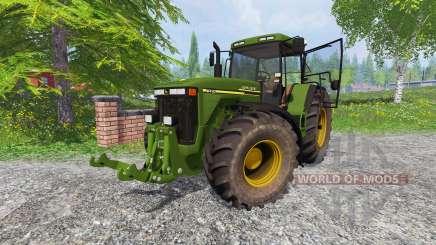 John Deere 8410 v1.2 pour Farming Simulator 2015