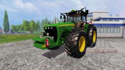John Deere 8520 [plowing] pour Farming Simulator 2015