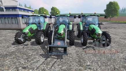 Deutz-Fahr 5110 TTV v2.0 pour Farming Simulator 2015