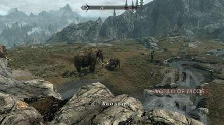 Réalistes, les animaux et les prédateurs [1.38] pour Skyrim