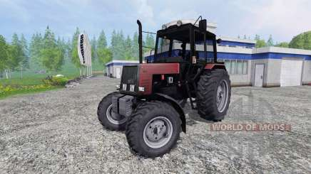 MTZ Belarus 1025 v2.0 [rot] für Farming Simulator 2015