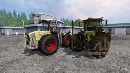 CLAAS Xerion 3800 Trac VC [clean and dirty] für Farming Simulator 2015