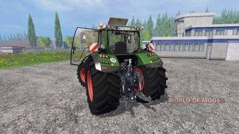 Fendt 724 Vario SCR v3.0 für Farming Simulator 2015