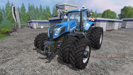 New Holland T8.275 Twin Wheels v1.1 pour Farming Simulator 2015