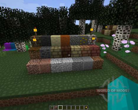 Rectangular Resource Pack [128x][1.8.8] für Minecraft