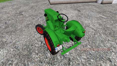 Allgaier A22 für Farming Simulator 2015
