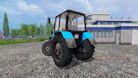 MTZ-82.1 Biélorusse v2.0 pour Farming Simulator 2015