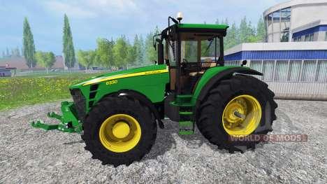 John Deere 8330 v3.0 für Farming Simulator 2015