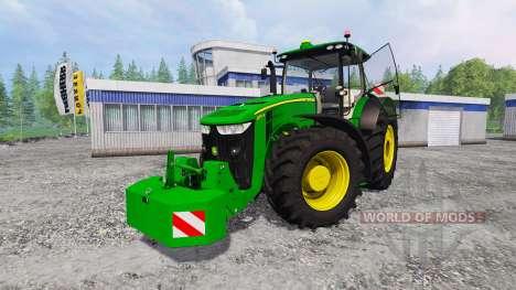 John Deere 7290R and 8370R v0.2 pour Farming Simulator 2015