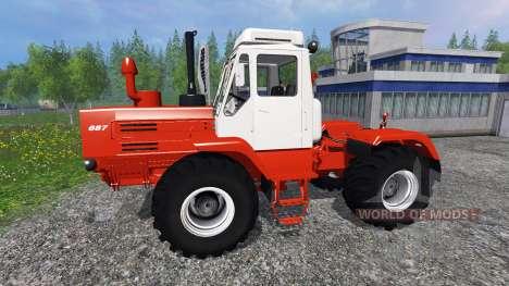 T-150K rouge pour Farming Simulator 2015