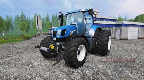 New Holland T6.175 twin wheels für Farming Simulator 2015