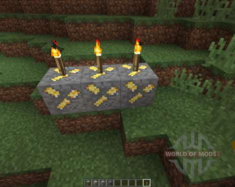 Realistic Ores [16x][1.8.8] pour Minecraft