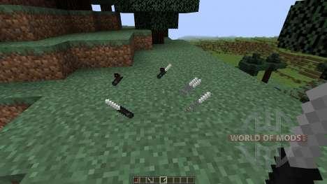 Call of Duty Knives [1.8] für Minecraft