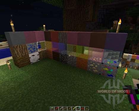 Color Land [16x][1.8.8] pour Minecraft