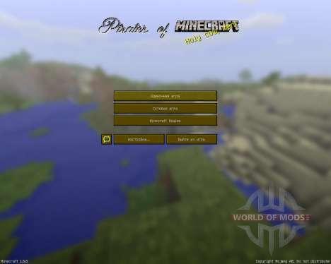 Pirates Of Minecraft [32x][1.8.8] pour Minecraft