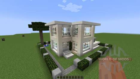 Small Modern House [1.8][1.8.8] pour Minecraft