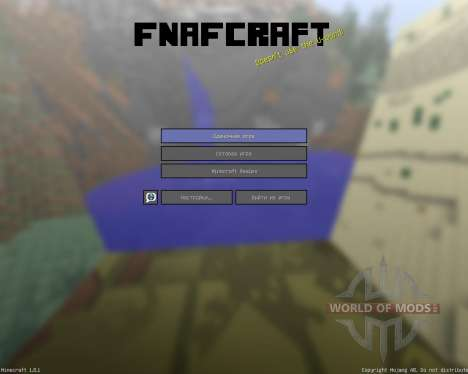 Noahs Fnafcraft Resource Pack [16x][1.8.1] pour Minecraft