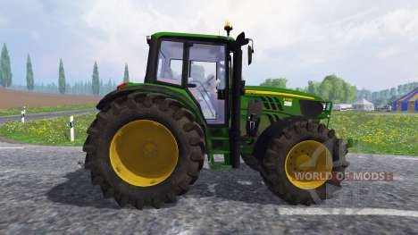 John Deere 6140M pour Farming Simulator 2015