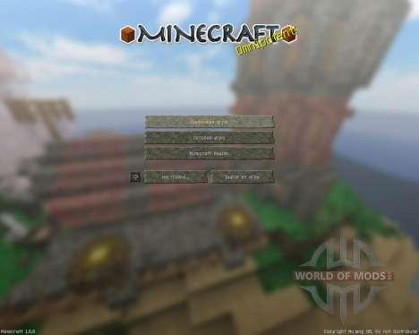 Tender World Resource Pack [32x][1.8.8] für Minecraft