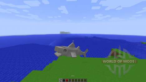 Shark Simulator in Vanilla Minecraft[1.8][1.8.8] pour Minecraft