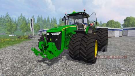 John Deere 7290R and 8370R v1.0b für Farming Simulator 2015