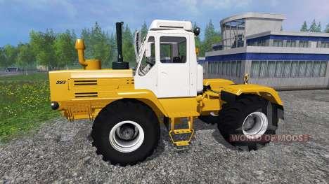 T-150K jaune pour Farming Simulator 2015