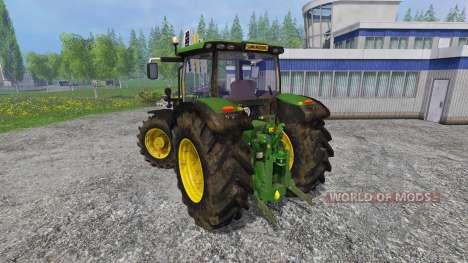 John Deere 6170R FL pour Farming Simulator 2015