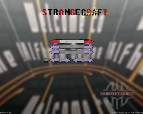 STRANGE CRAFT [128x][1.8.1] pour Minecraft