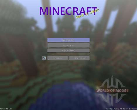 Sorogons Resource Pack [64x][1.8.1] pour Minecraft