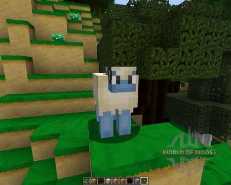 Pokemobs [64x][1.8.1] pour Minecraft