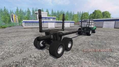 T-150K Holz für Farming Simulator 2015
