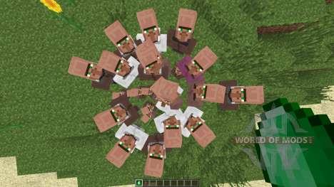 Villagers Need Emeralds [1.7.2] pour Minecraft