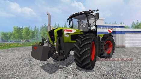 CLAAS Xerion 3300 TracVC [washable] v4.1 pour Farming Simulator 2015