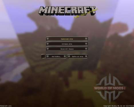 Enderbornplaysmc Official RPG [64x][1.8.1] pour Minecraft