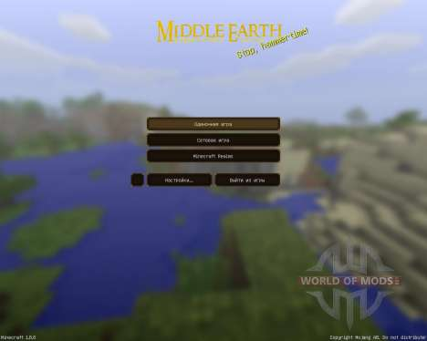 Middle Earth: A LOTR pack [64x][1.8.8] für Minecraft