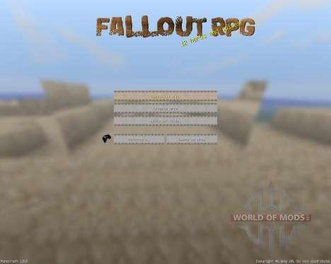 Fallout - Paradise [32x][1.8.8] pour Minecraft