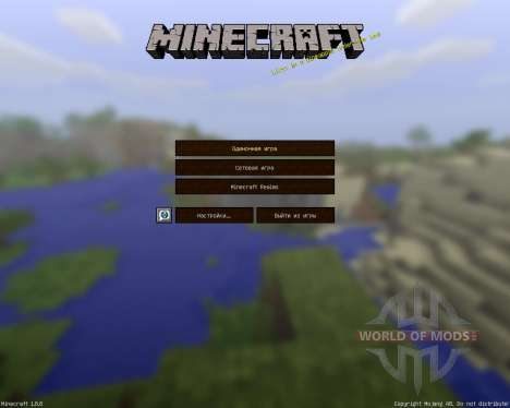 Jadercraft Infinity [64x][1.8.8] für Minecraft