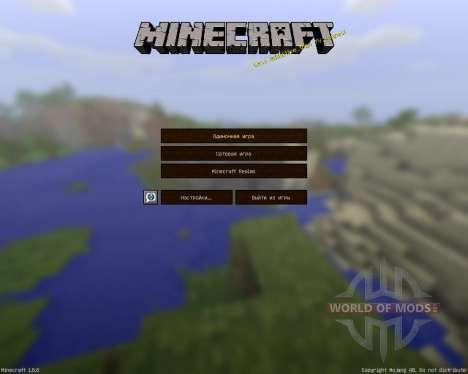 Jadercraft HD Resource Pack [64x][1.8.8] für Minecraft