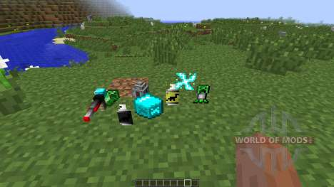 Laser Creeper Robot Dino Riders [1.7.10] pour Minecraft