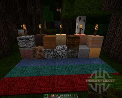 HyperRealistic Lagooncraft HD [128x][1.8.1] pour Minecraft