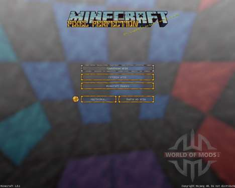 Pixel Perfection [16x][1.8.1] für Minecraft