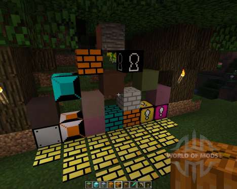 Super Mario Bros Resource Pack [16x][1.8.1] pour Minecraft