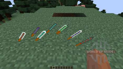 Energy Swords [1.7.10] pour Minecraft